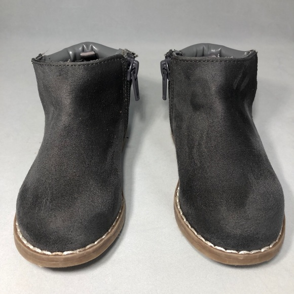Crazy 8 Other - Crazy 8 Toddler Girl Zip Ankle Boots/Booties